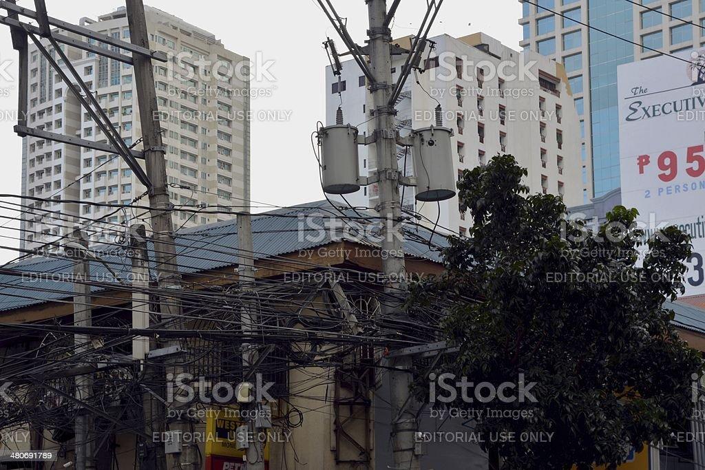 Manila, Malate district stock photo