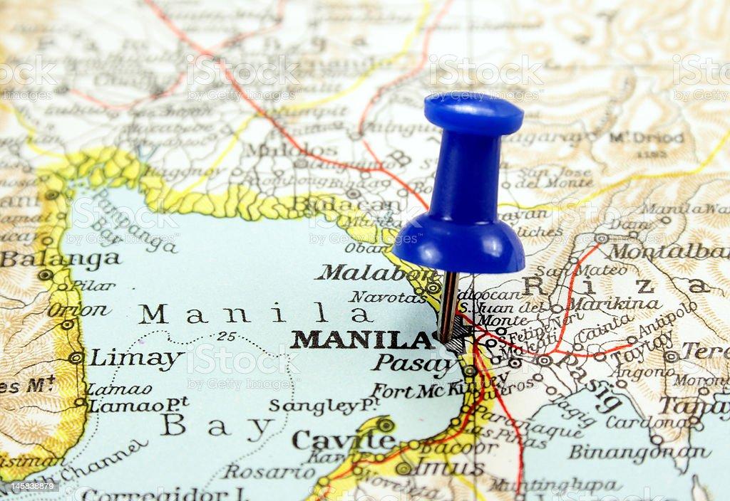 Manila, Philippines royalty-free stock photo
