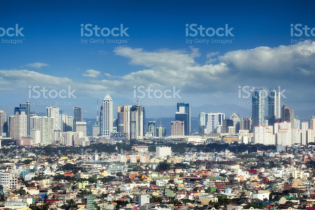 Manila, Philippines stock photo