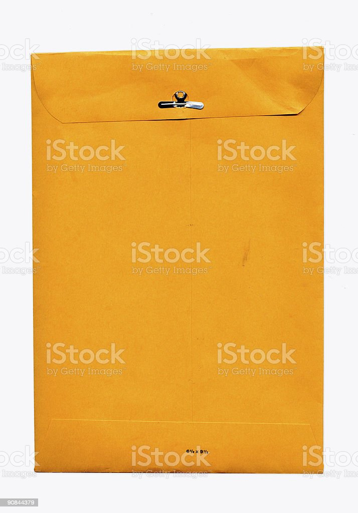 Manilla Envelope XXL stock photo