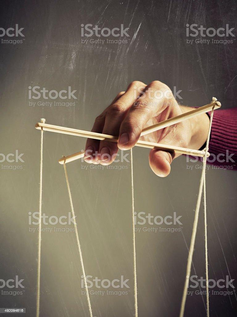 Manipulating arm stock photo