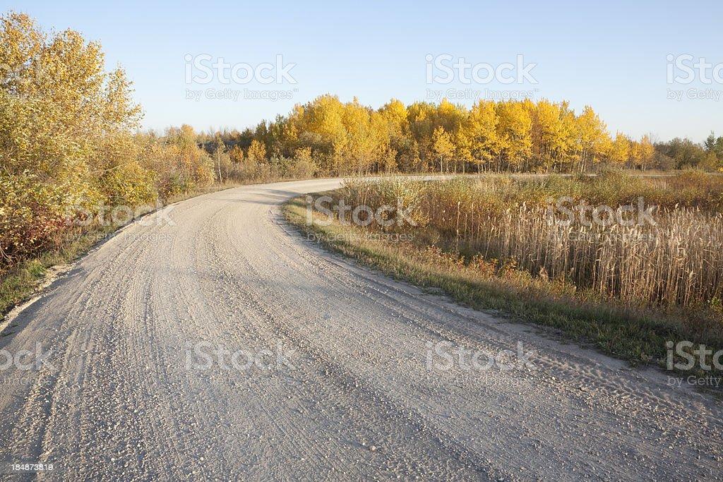 Manitoba Autumn royalty-free stock photo