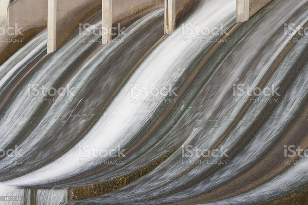 Manitoba Hydroelectric Power Station stock photo