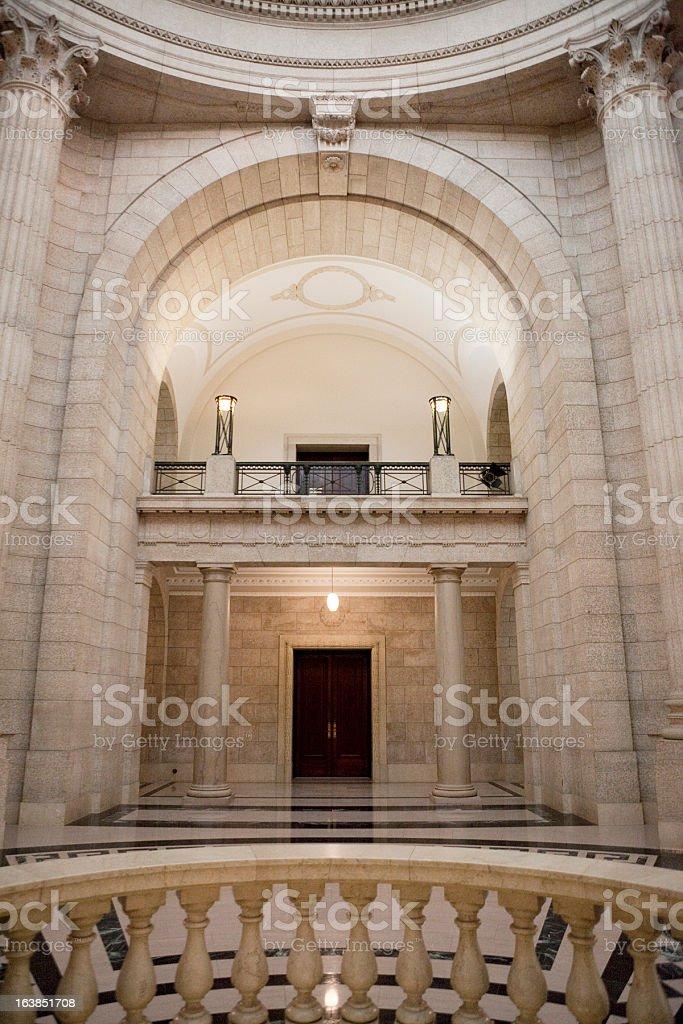 Manitoba Legislative Building royalty-free stock photo