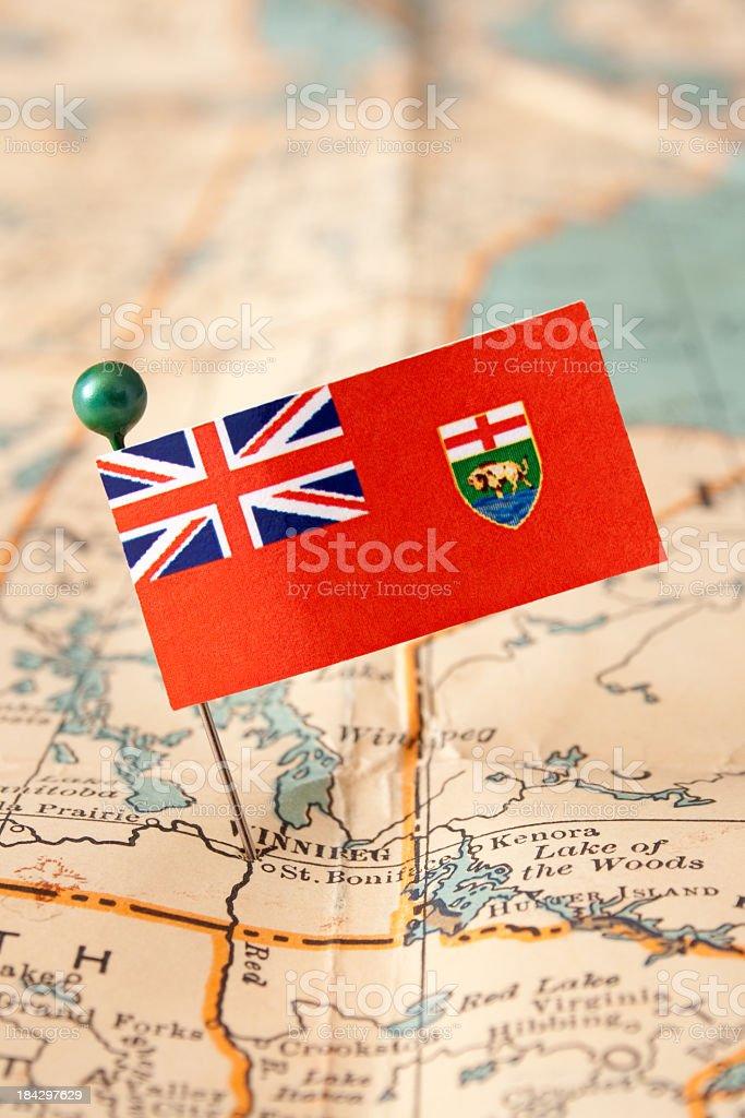 Manitoba royalty-free stock photo