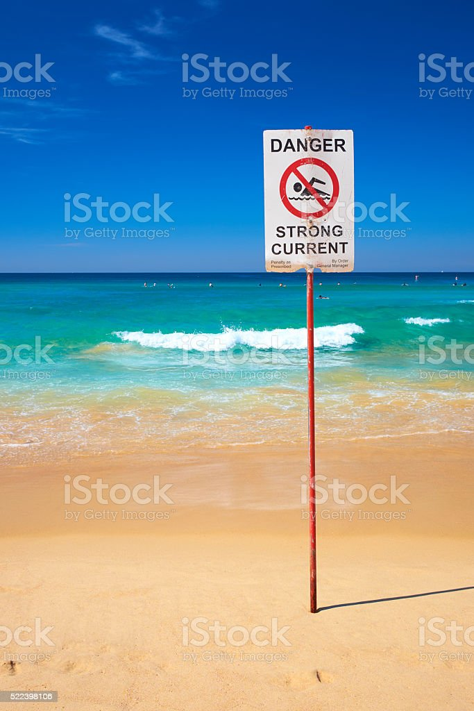 Manly Beach In Sydney, Australia stock photo
