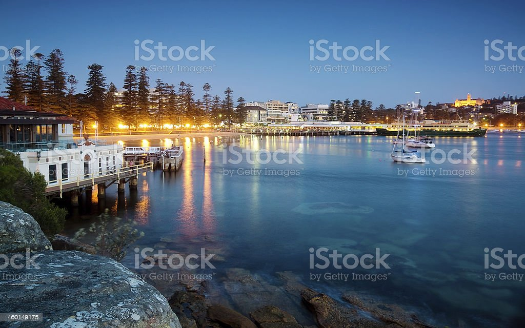 Manly Cove stock photo