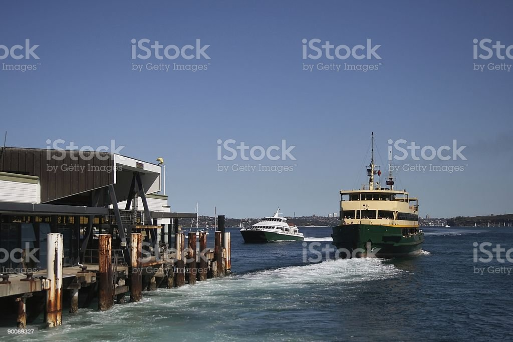 Manly Ferries royalty-free stock photo