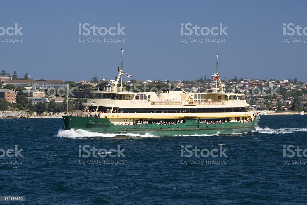 Manly ferry royalty-free stock photo