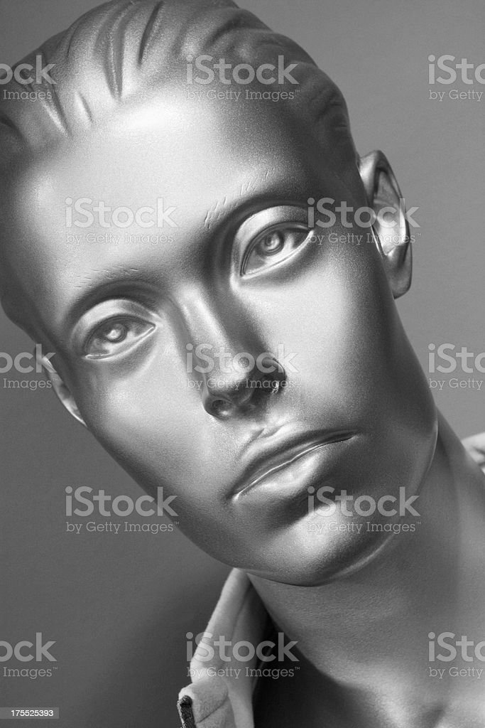 Mannequin Face Female Fashion Head royalty-free stock photo