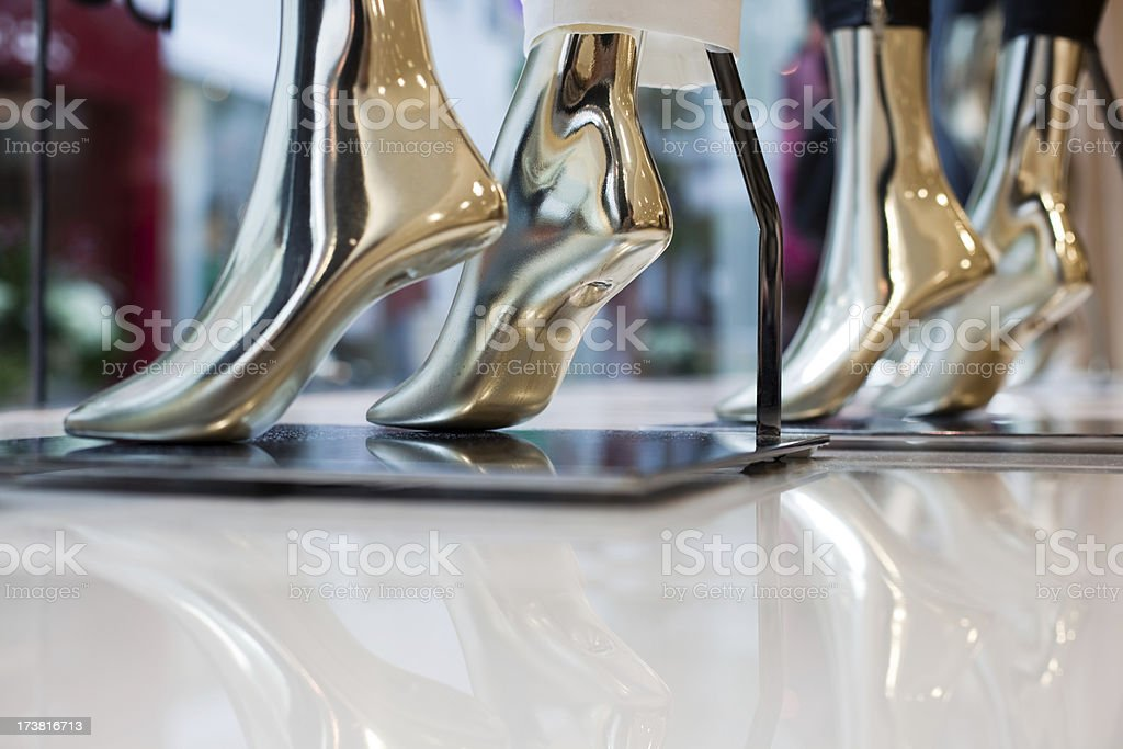 Mannequin Feet royalty-free stock photo