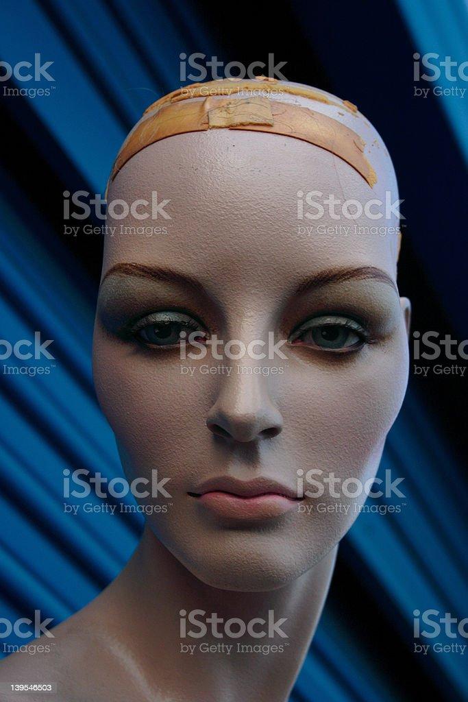 Mannequin Gaze stock photo