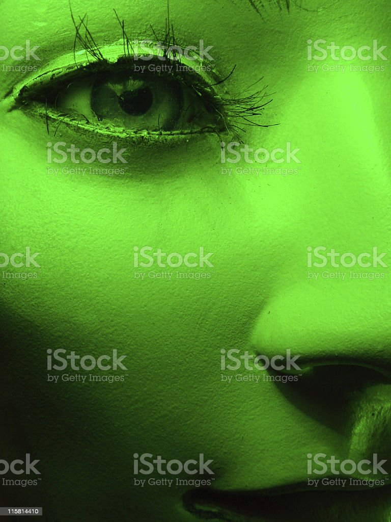 Mannequin Girl, Close-Up royalty-free stock photo