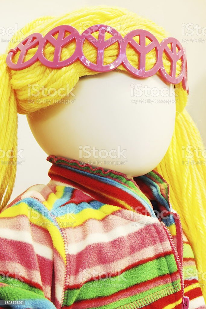 Mannequin Girl Clothing Fashion royalty-free stock photo