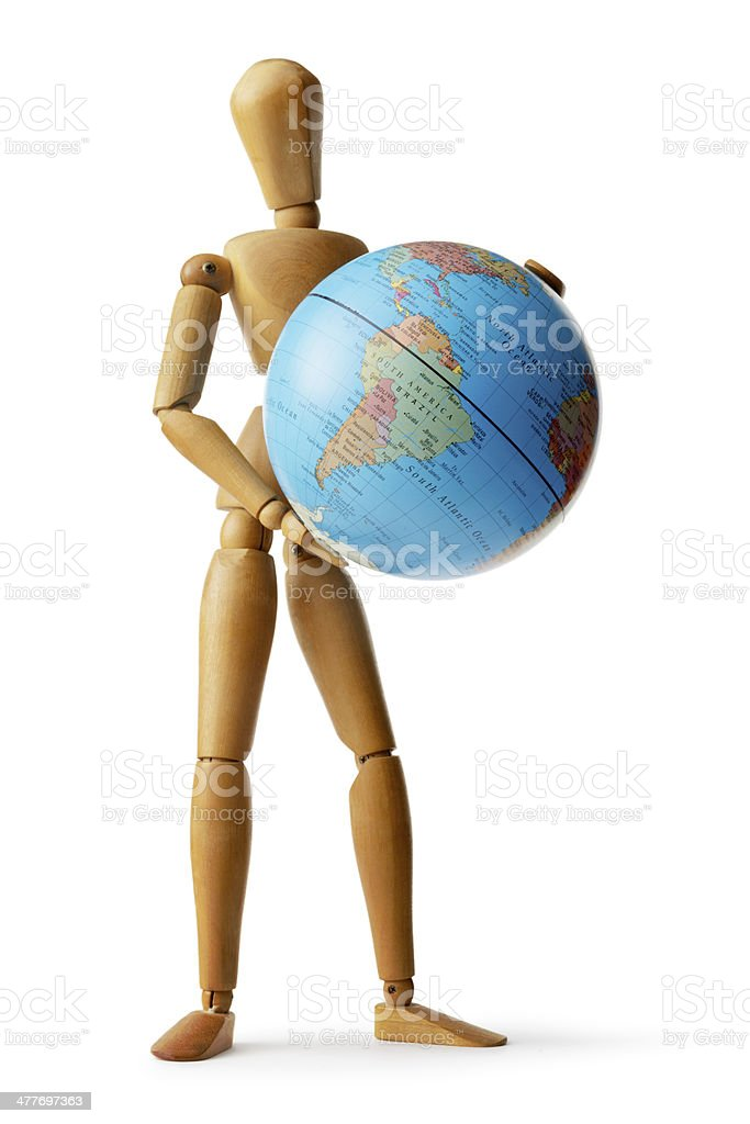 Mannequin: Going Global royalty-free stock photo