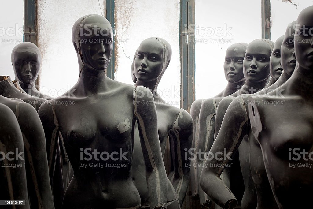 Mannequin series stock photo