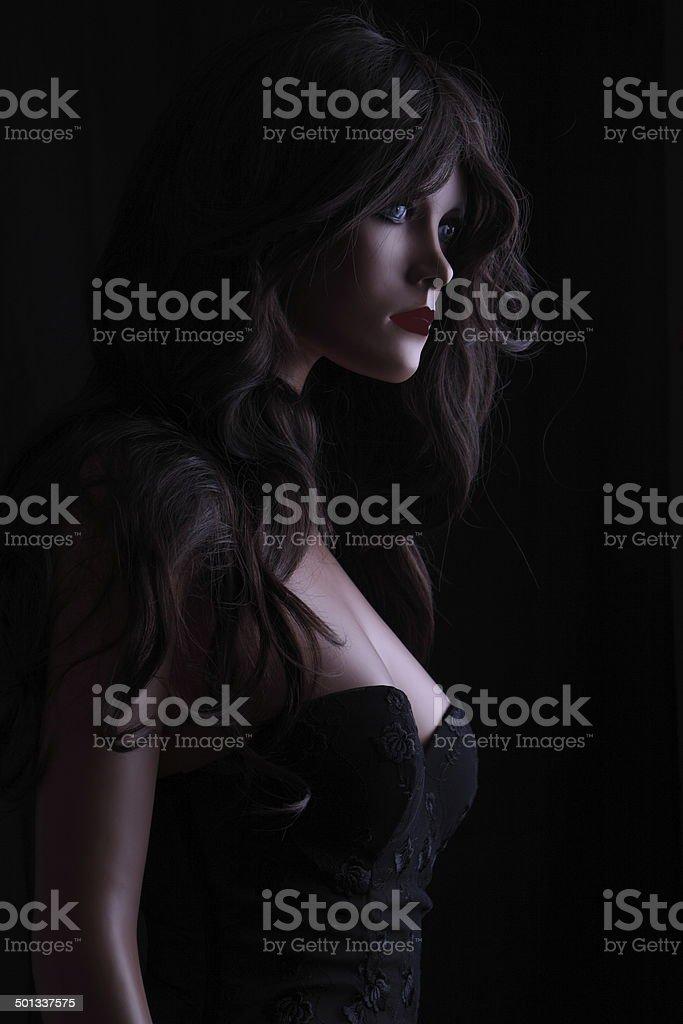 Schaufensterpuppe mit Corsage und Dessous royalty-free stock photo