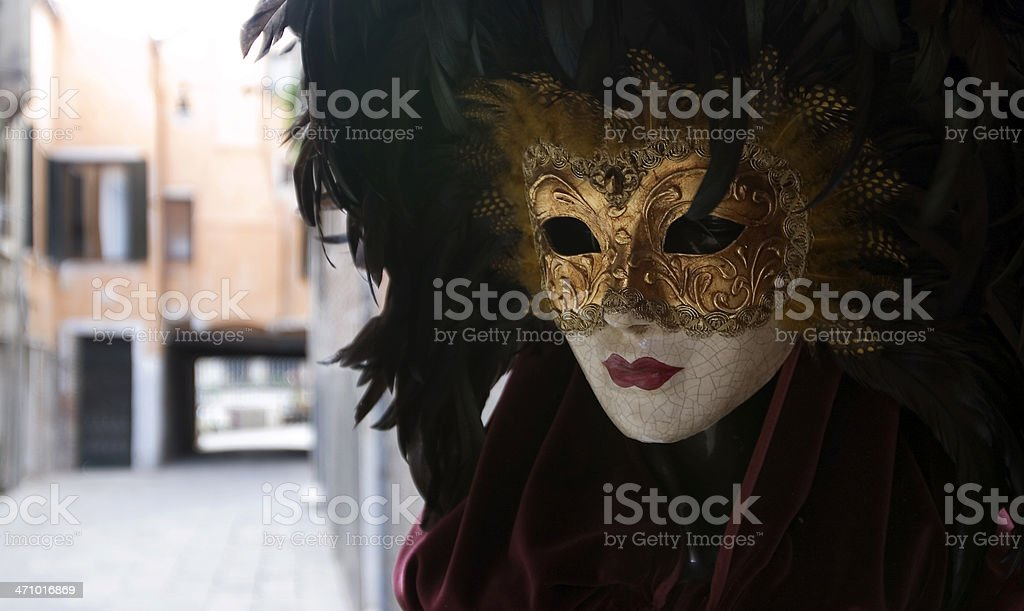 Mannequin with mask stock photo