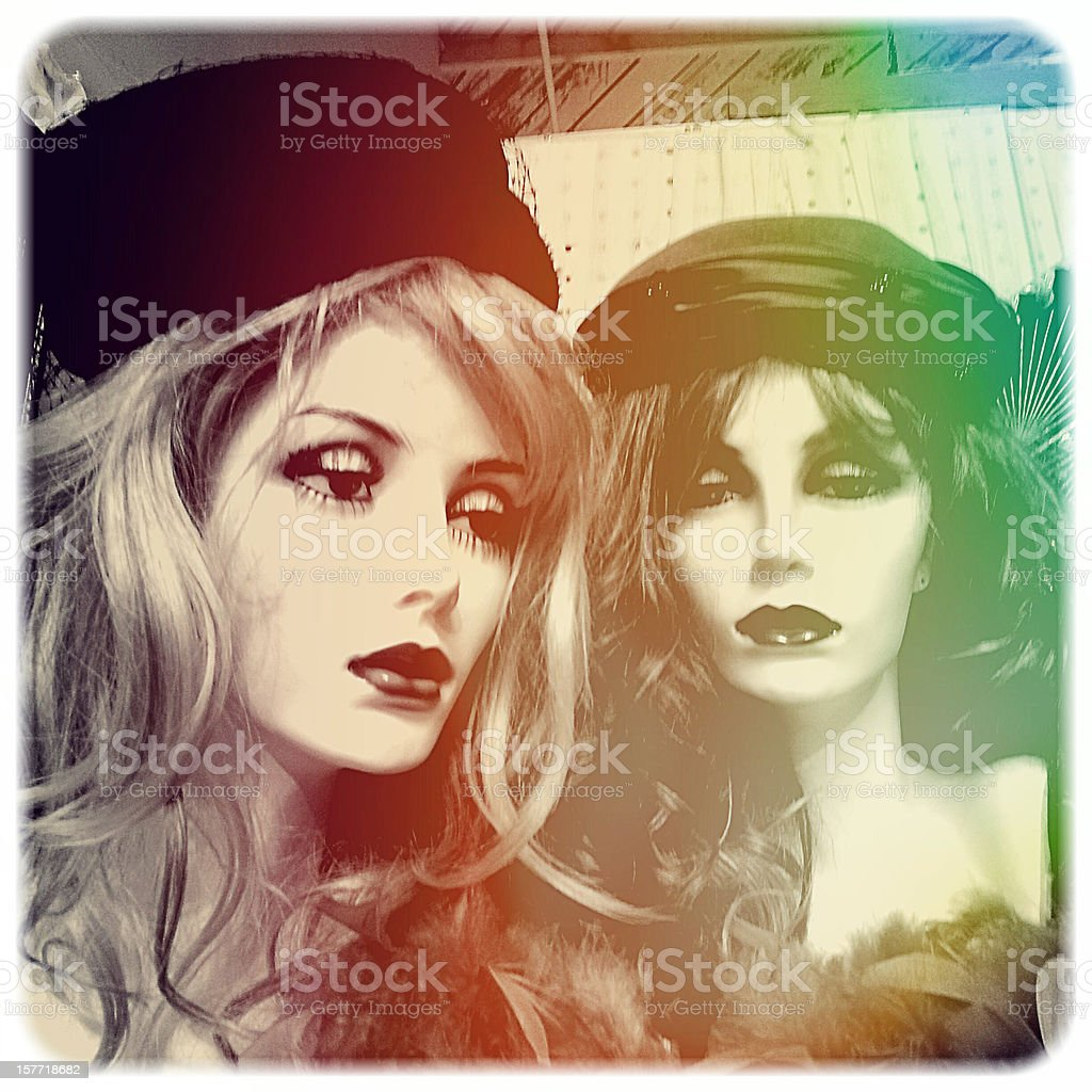 Mannequins royalty-free stock photo