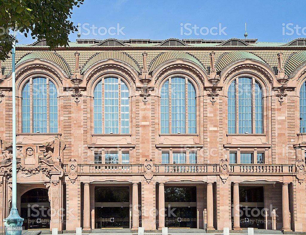 Mannheim コングレスセンター ロイヤリティフリーストックフォト