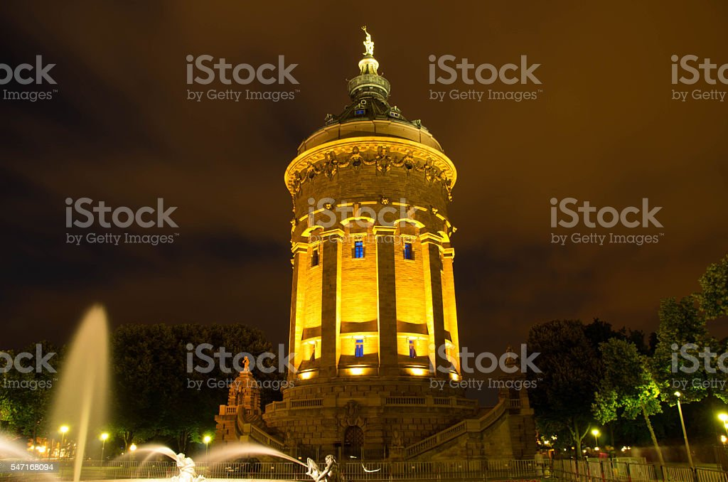 Mannheim, Germany stock photo