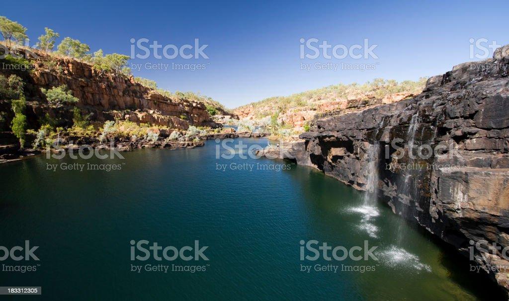 Manning Gorge stock photo