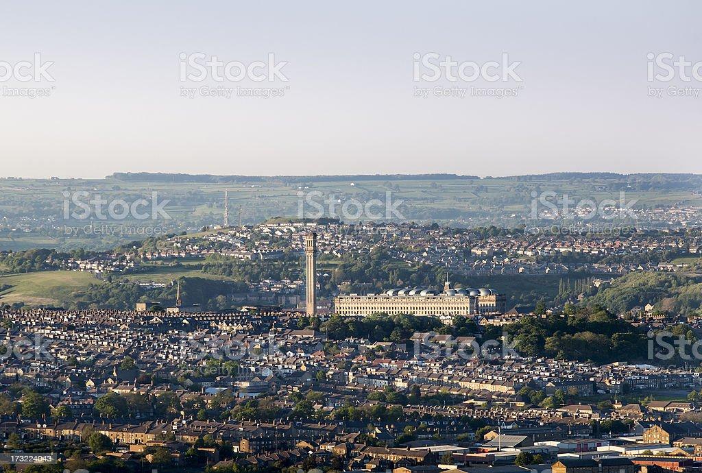 Manningham in Bradford royalty-free stock photo