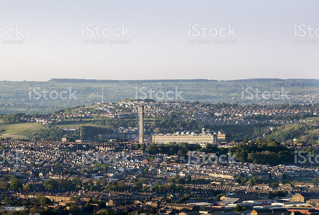 Manningham in Bradford stock photo