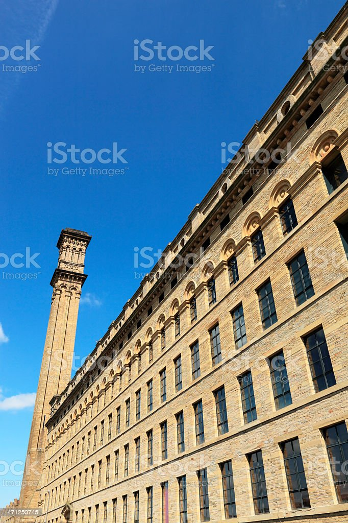 Manningham Mill Bradford royalty-free stock photo