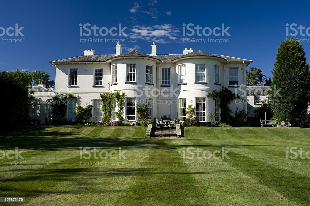Manor House stock photo