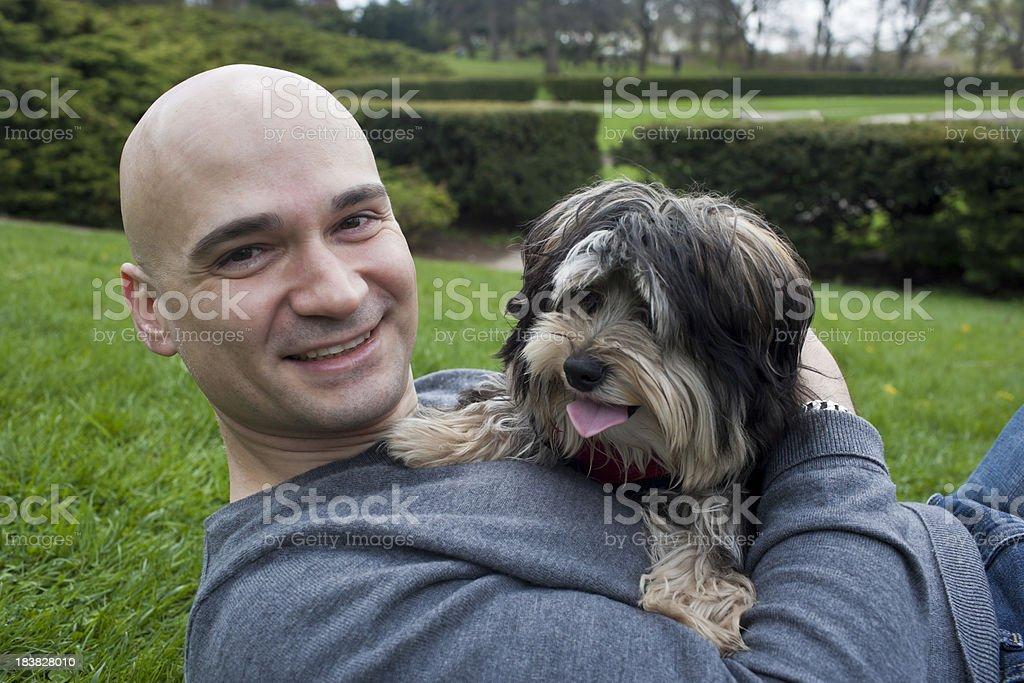 Man's best Friend royalty-free stock photo