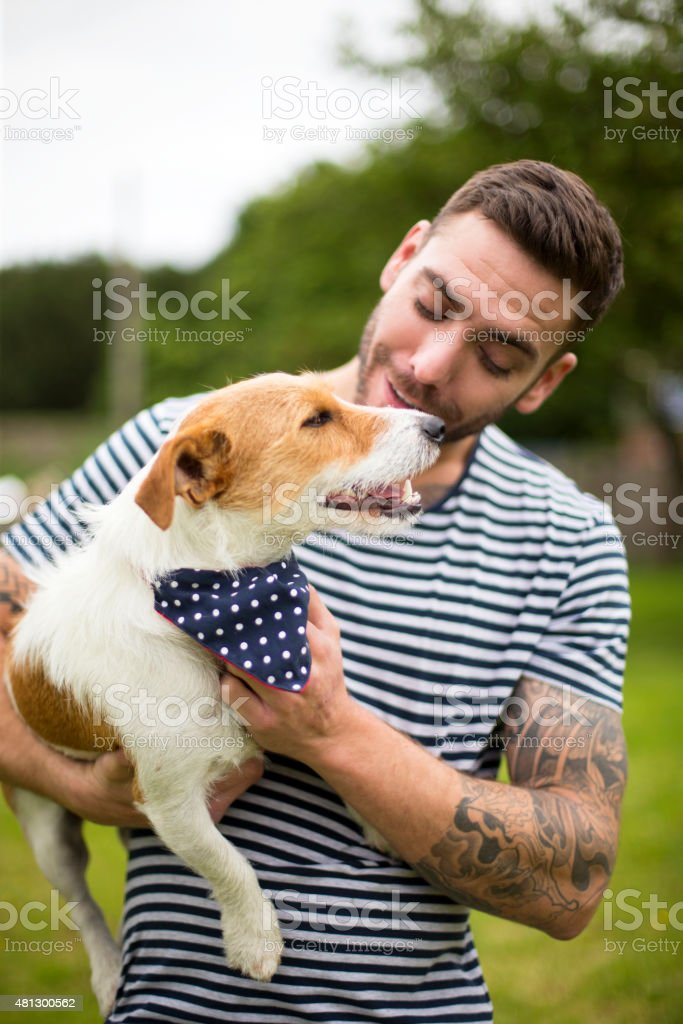 Man's Best Friend stock photo