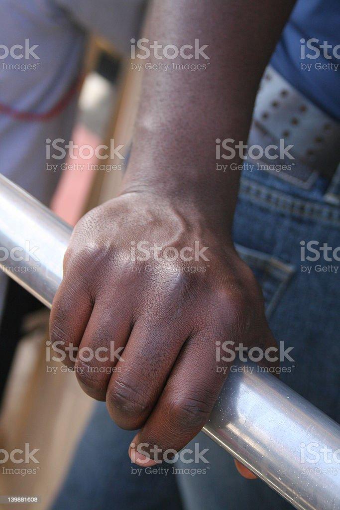 Man's Hand royalty-free stock photo