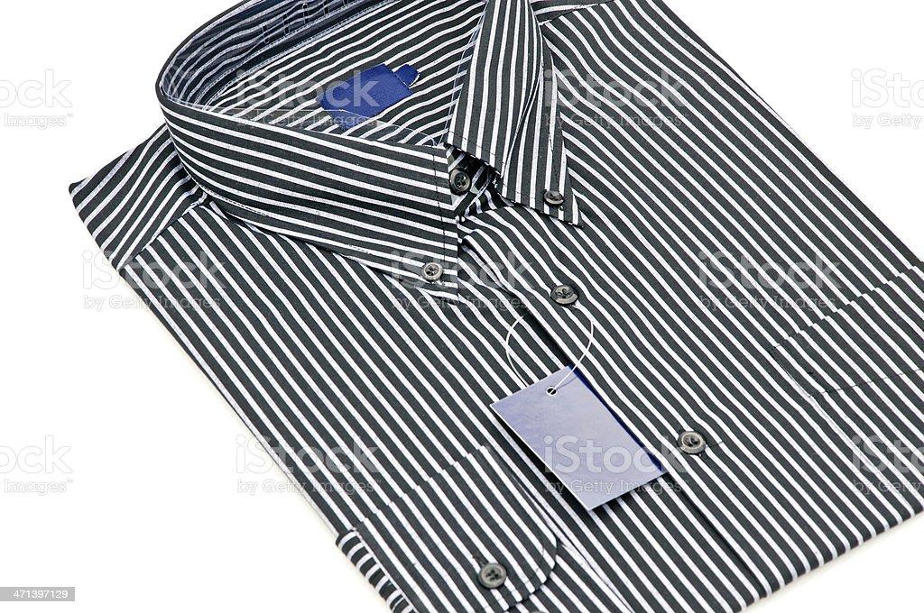 Mężczyzna koszuli na białym tle zbiór zdjęć royalty-free