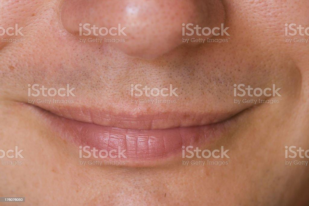 man's smile royalty-free stock photo