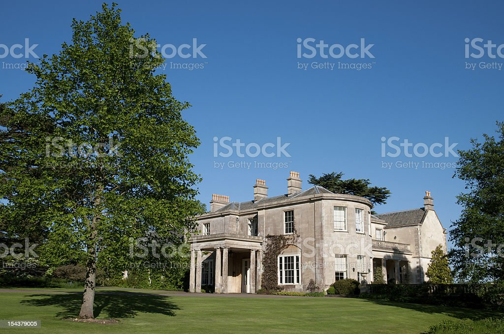 Mansion house royalty-free stock photo