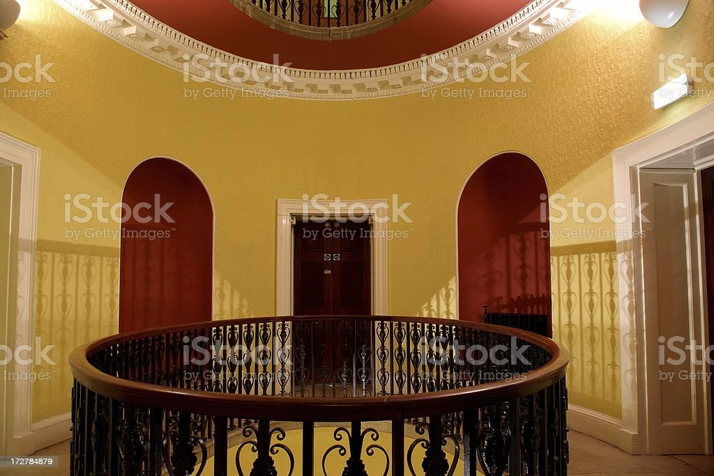 Mansion interior stock photo