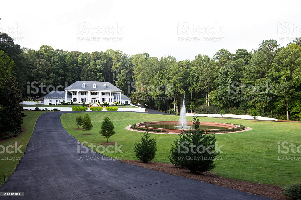 Mansion stock photo