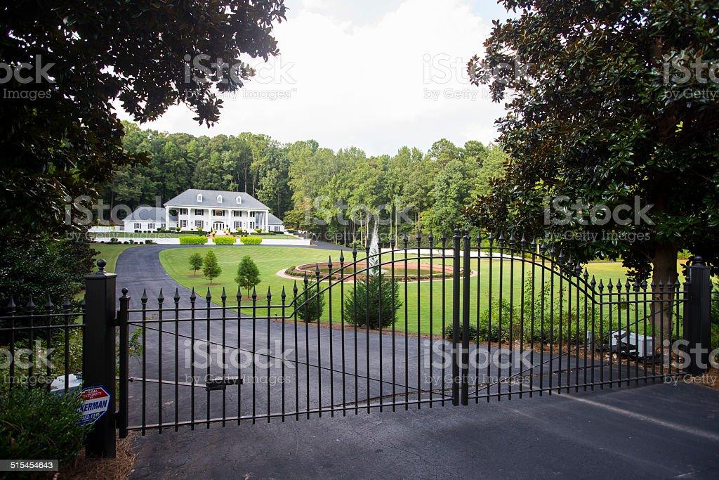 Mansion stock photo
