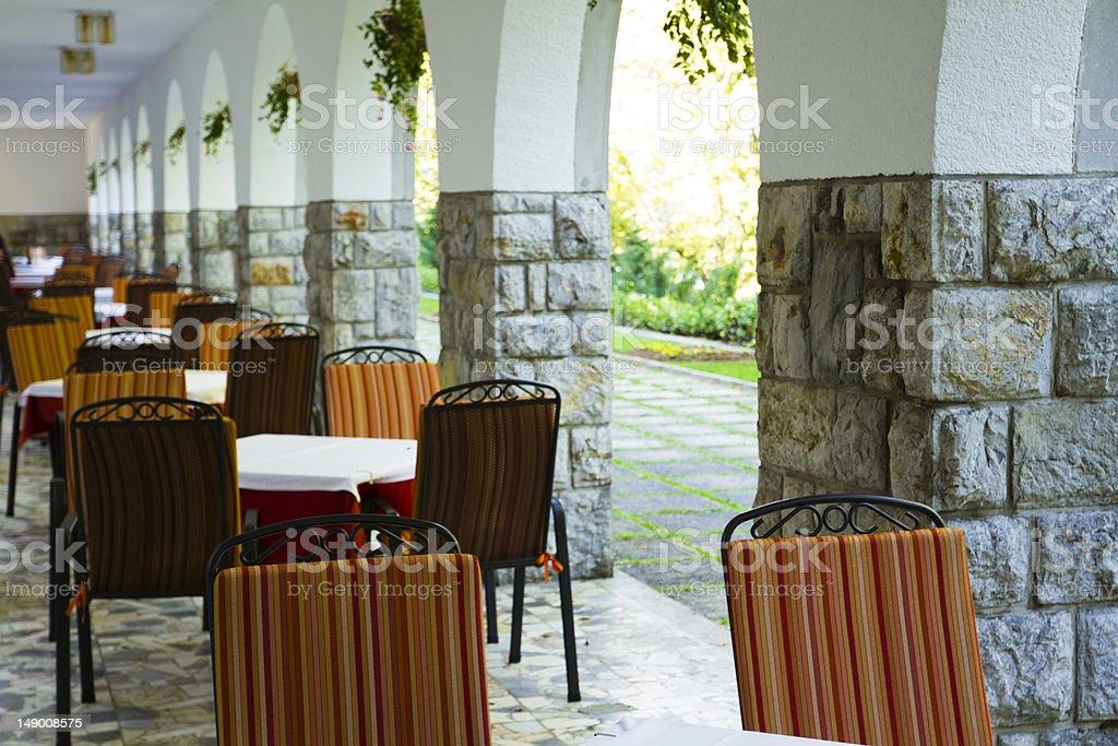 mansion restaurant royalty-free stock photo