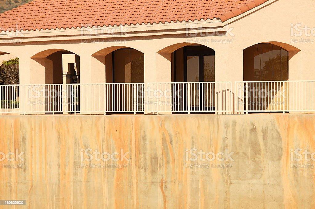 Mansion Villa Home Architecture stock photo