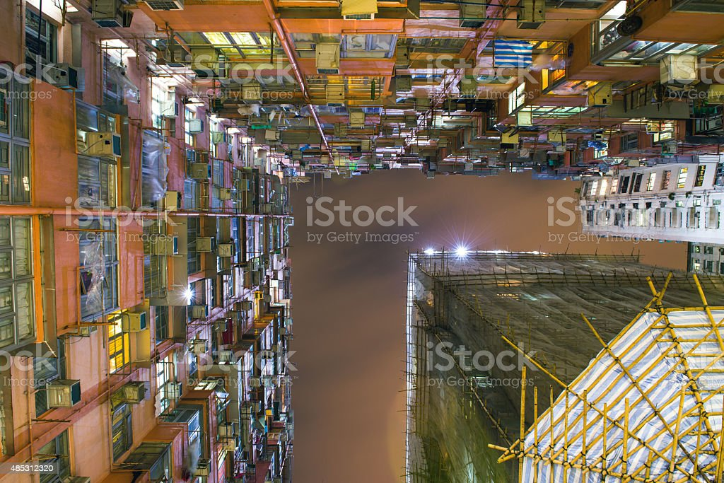 Mantane Mansion, Quarry Bay Hong Kong stock photo