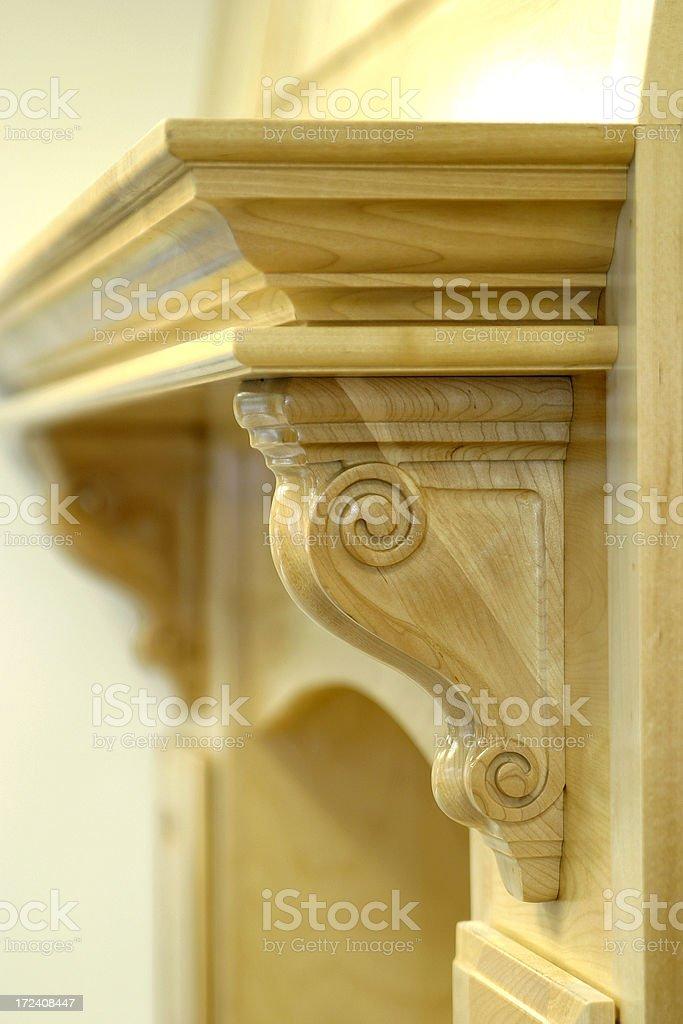 Mantel Detail. royalty-free stock photo