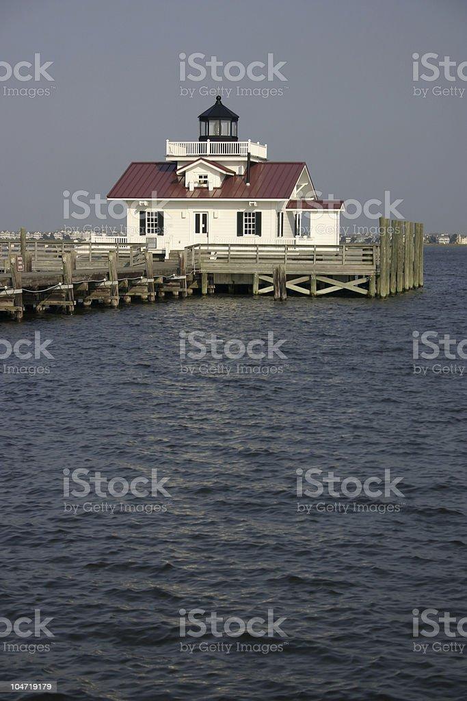 Manteo Lighthouse stock photo