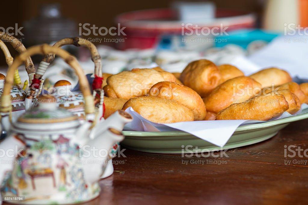 mantou stock photo