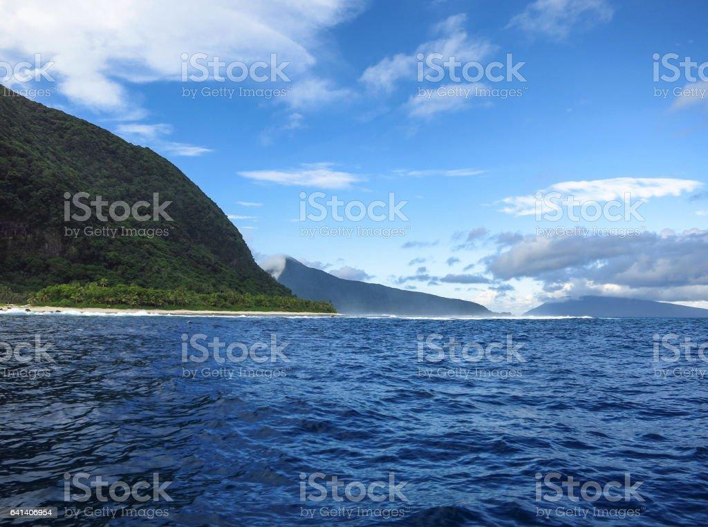 Manu'a Islands stock photo