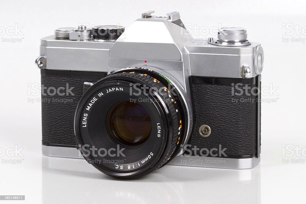 Manual 35mm Camera royalty-free stock photo