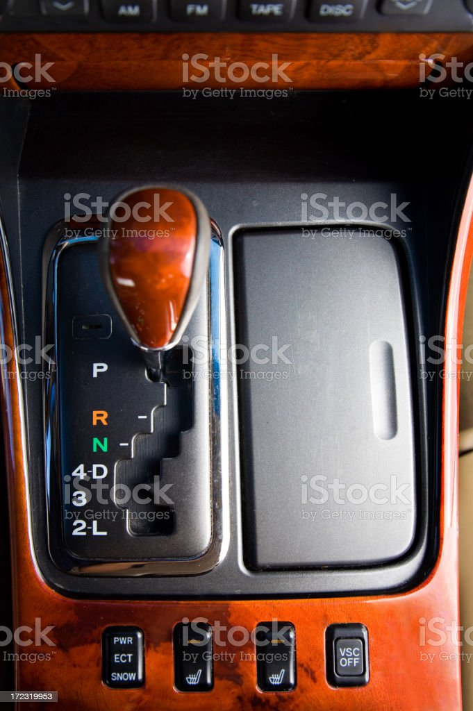 Manual Automatic royalty-free stock photo