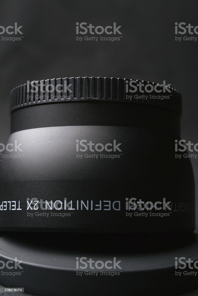 Manual Lens Macro Set royalty-free stock photo