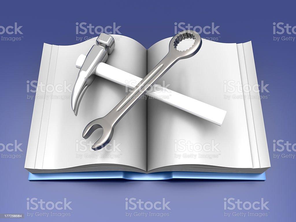Manual stock photo